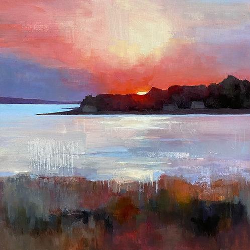 Borrowed Light, Denise Graham, Oil -  ,  24 x 24