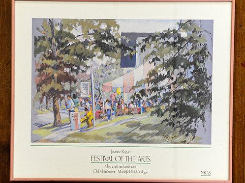 Festival of the Arts 1991 Framed