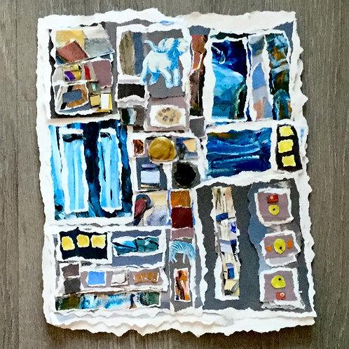 Open the Flood Gates, Carol Branton, Mixed Media, 9.5 x 7.5