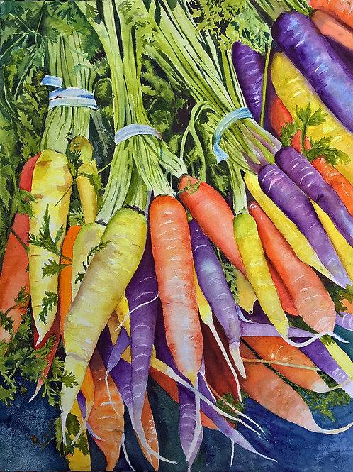 FarmToTable, Betty Rogers, Watercolor, 16 x 20
