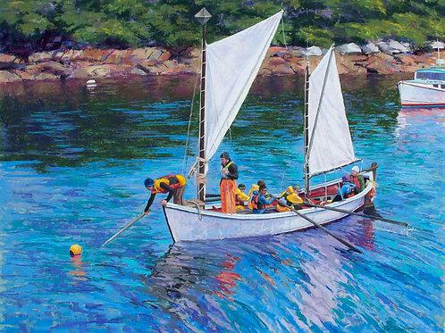 Outward Bound- Inward Bound, Margaret Bruno,  -  Pastel,  24 x 30
