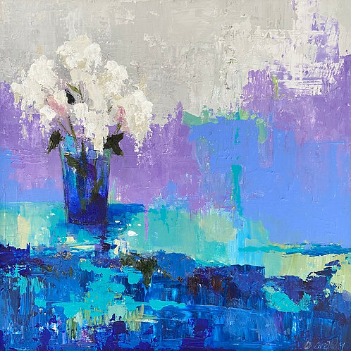Arrangement, Denise Graham, Acrylic - , 10 x 10