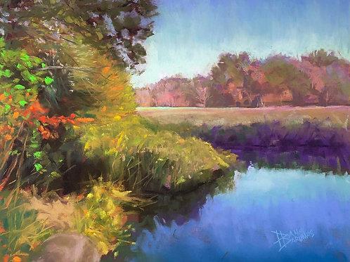 Clear Blue Skies, Dana Barunas, Pastel,11 x 14