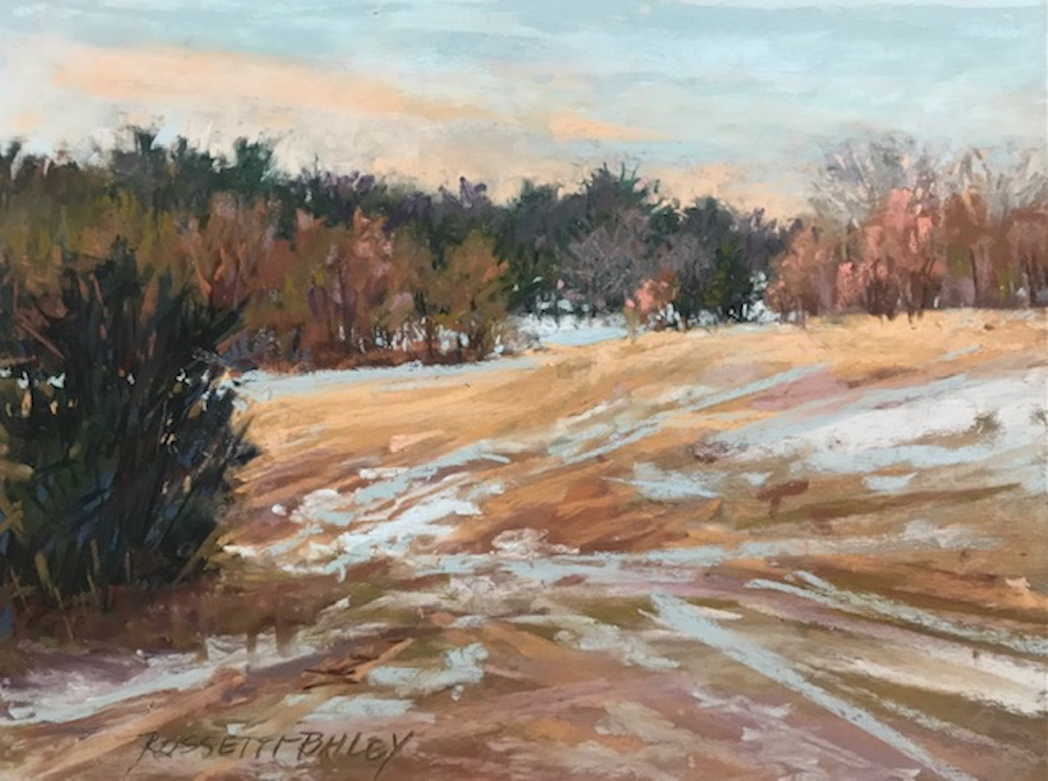 """""""Early Snow"""", 9""""x12"""""""