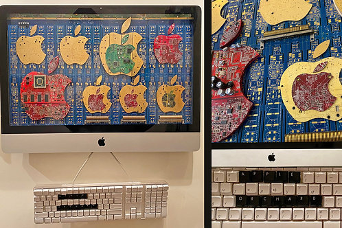 Apple Orchard, Dixon Bergman, Sculpture, 26 x 26
