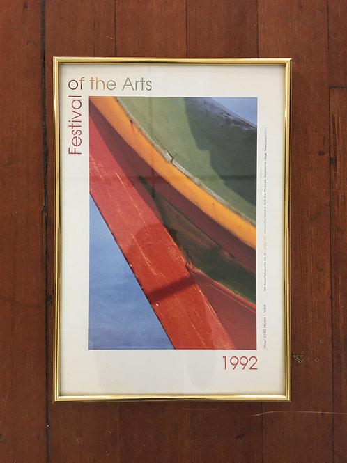 Festival of the Arts 1992 Framed
