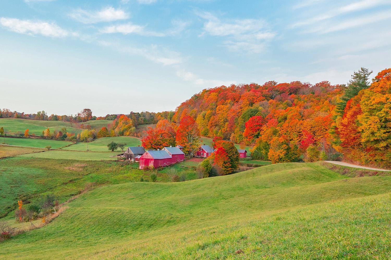 """""""Fall On a Farm"""", Photography, 16""""x24"""""""