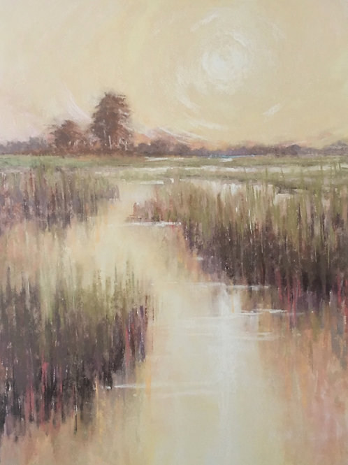 SUMMER DAWN, CECILIA MURRAY, Pastel - PASTEL ON PAPER, 16 x 12