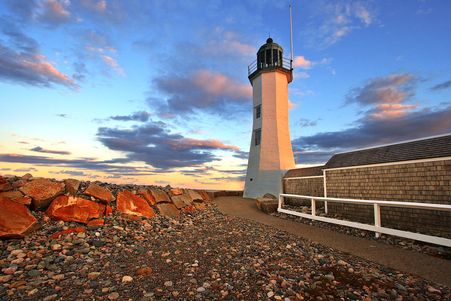 """""""Scituate Light"""", Photography, 13""""x19"""""""