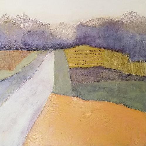 Without Pause, Karole Nicholson, Mixed Media - , 30 x 30