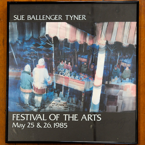Festival of the Arts 1985 Print
