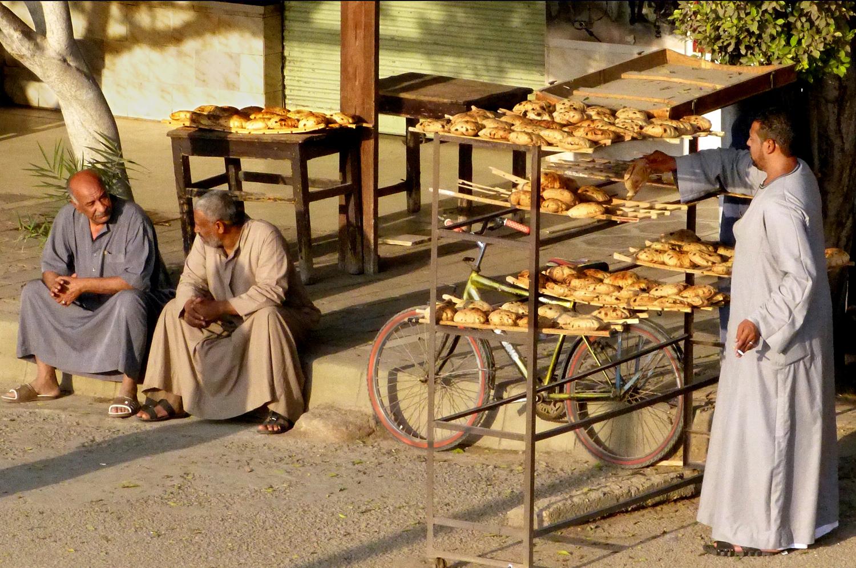 """Bread Baker in Esna 2019"", Photography, 16""x10.5"""
