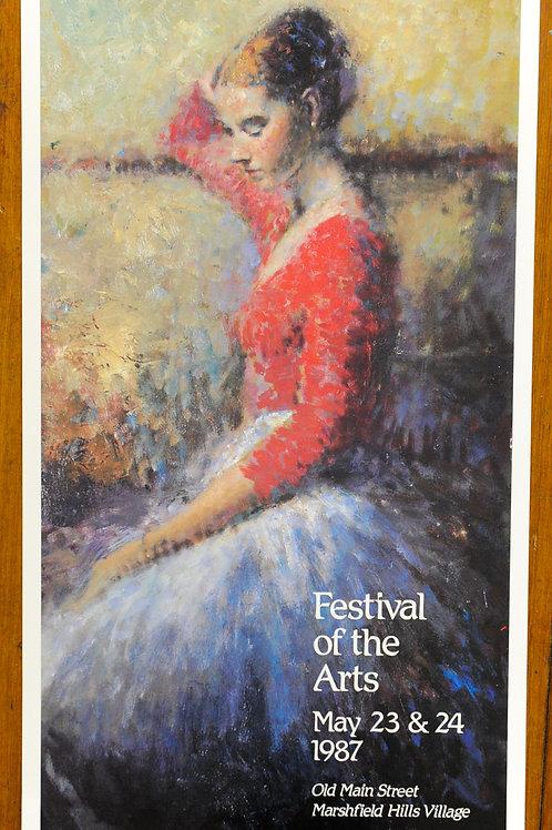 Festival of the Arts 1987 Print