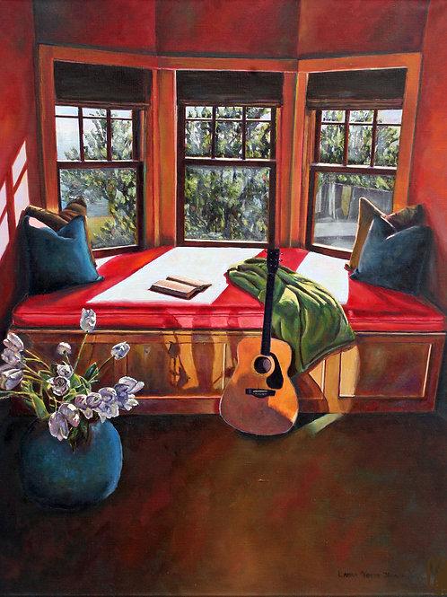 Acoustic Chill, Laura Jennings, Oil - oil on linen, 20 x 16