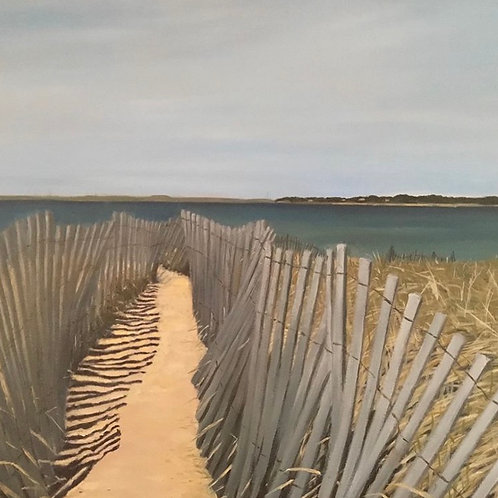 Beach Path, Karen Mack, Oil - , 16 x 20
