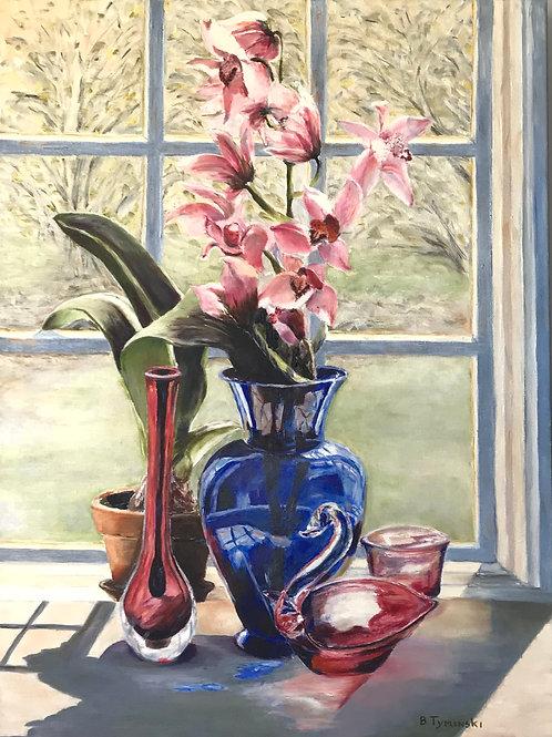 Trishas Gift, Barbara Tyminski, Oil - Oil on canvas, 24 x 18