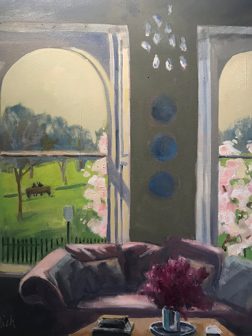 Primrose Hill Spring, JoAnne Chittick, Oil - , 24 x 20