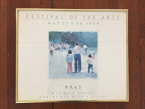 Festival of the Arts 1989 Framed