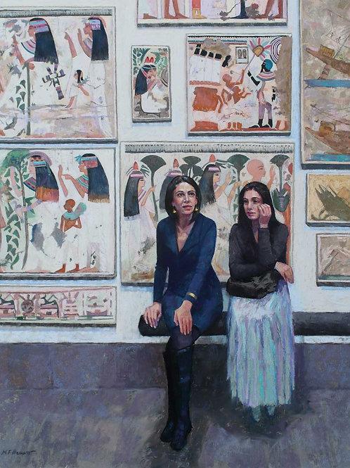 Time Travelers, Margaret Bruno, Pastel -  Pastel,  20 x 16