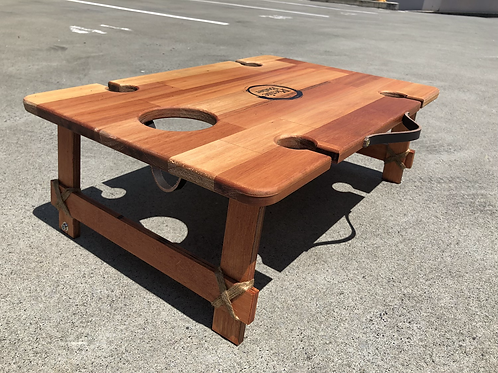 "Eucalyptus ""Vino"" 4-Wineglass Table"