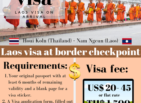 Laos 🇱🇦 visa on arrival