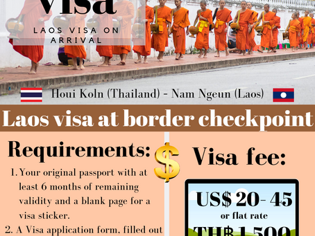 Laos 🇱🇦 visa on arrival