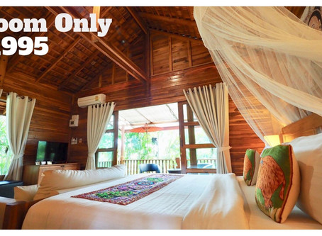 Our Secret Promotion: All Superior Bungalows now only ฿ 1,995. Click on the Nan Seasons link