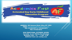 Academics First Daycare