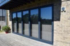 Anthacite Grey Bi-Fold Doors in Woodstock Oxfordshire
