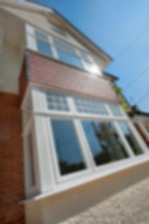 White Bay Windows flush casement in Edwardian splendour