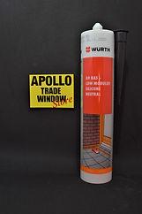 Wurth A9 BAS Low Modulus Neutral Cure White Silicone