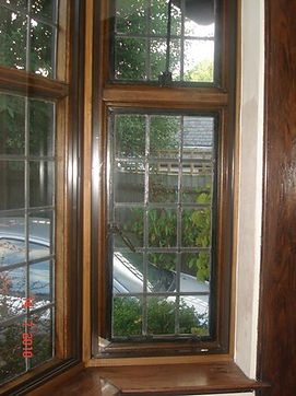 Wooden Bay Window with Secondary Glazing