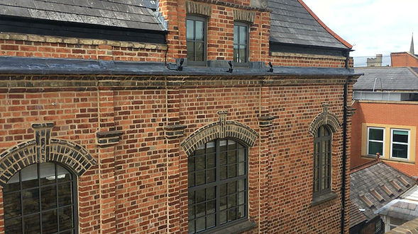 Anthracite Grey Exlabesa Aluminium profile arched windows with astragal bars