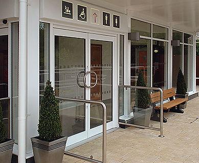 commercial entrance