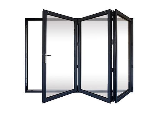 Set of Bi-fold doors by Customade