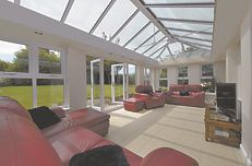 orangery with a skypod roof