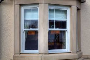 traditional white vertical sliding sash windows