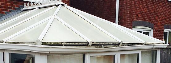 conservatory roof gutter repair