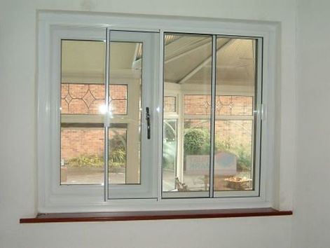 uPVC Window in White with Secondary Glazing