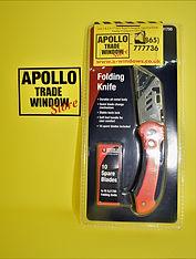 Apollo Trade Window Store Craft Folding