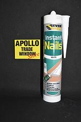 Everbuild Instant Nails Adhesive Sealant White