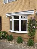 Bow Bay Three-Section Window in White Colour Standard Casement
