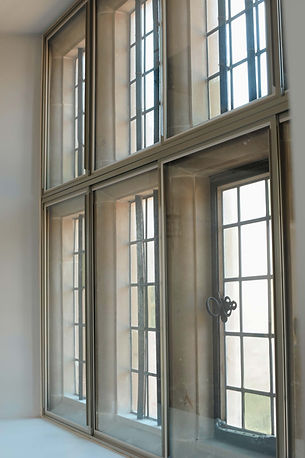 Secondary Glazing panels for an old style window