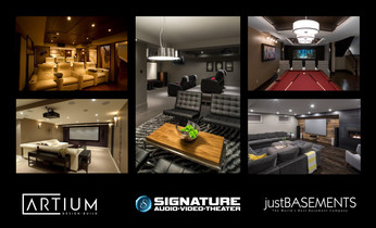 Just Basements & ARTium Design Build – Partner Profile