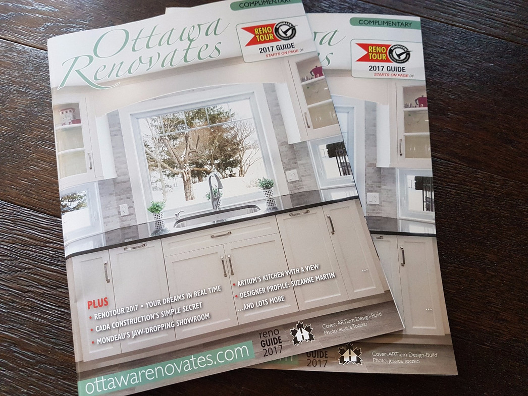 On the cover of Ottawa Renovates