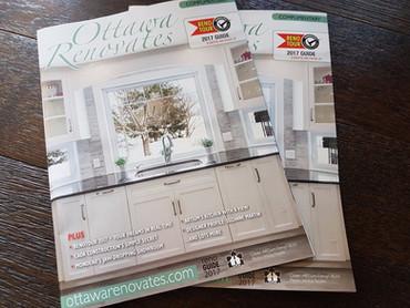On the cover of Ottawa Renovates