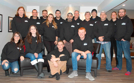Team Photo Christmas 2018