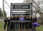 The Team and the ART of Renovation - updating our sign