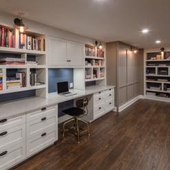 Just Basements - Custom Cabinetry