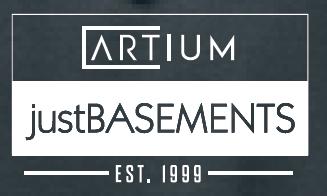 Just Basements & ARTium Design Build Est.1999